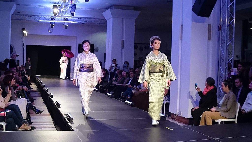 日本國寶級和服設計大師冨田伸明將於「D·PARK遊世界 日本新年祭」上舉辦作品展,展出 3 套特別設計和服。