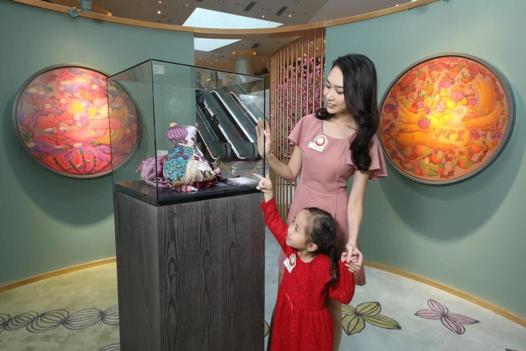 ELEMENTS圓方:「年年有餘」新春藝術裝置 置身畫廊感受奇幻的藝術世界。