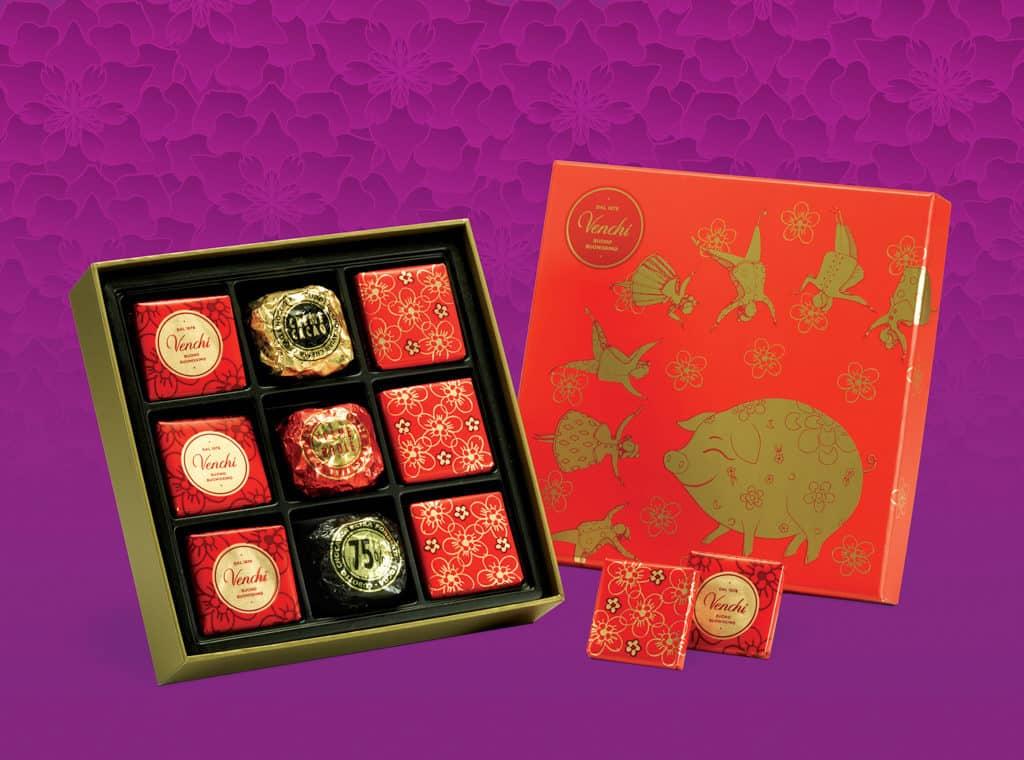 又一城:百福獻瑞賀新春 Venchi 雜錦巧克力禮盒