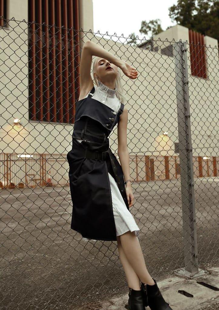 香港牛仔節 Hong Kong Denim Festival 2019 其中一個展區會介紹新世代設計師的牛仔時裝作品。