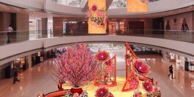 ifc Mall:豐盛花開福滿庭