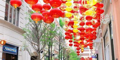 利東街:「利東喜盈豬」新春步行街