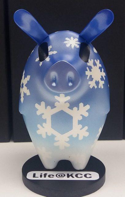 life@KCC‧韓國Vienna Pig Farms 新春藝術園:為 life@KCC 商場精心打造的 KCC 特別版「K-Pig figure」。