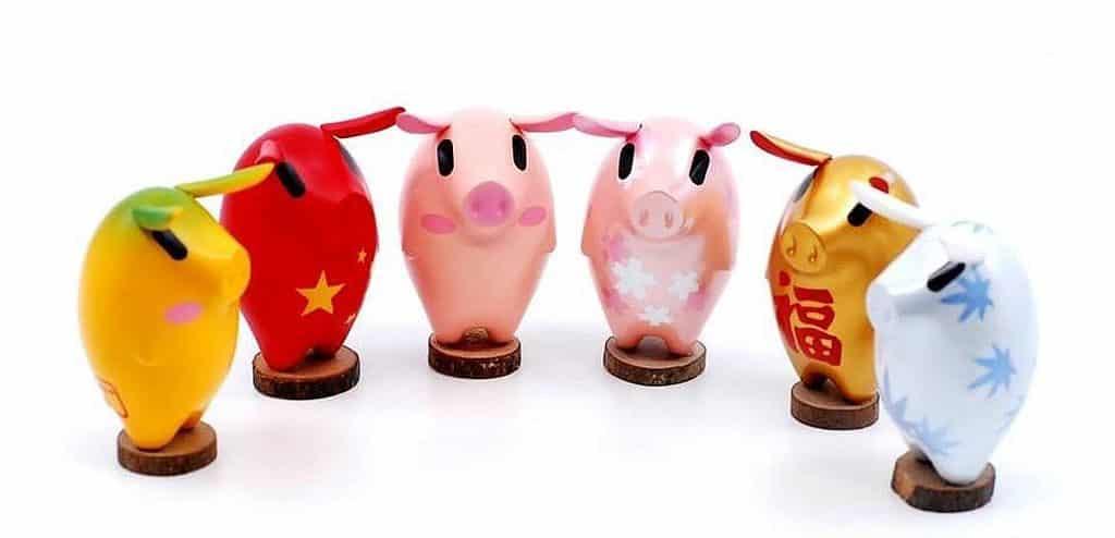 life@KCC‧韓國Vienna Pig Farms 新春藝術園:特別為「北京國際潮流具玩展」設計的 Vienna Pig Farms 限量版系列。