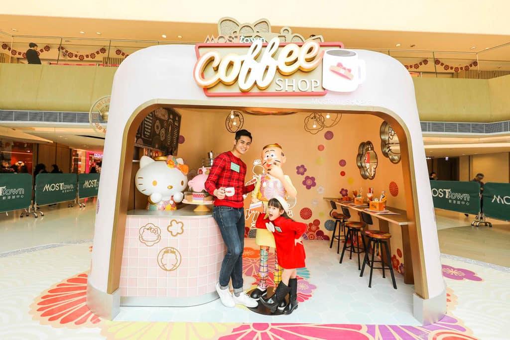 MosTown新港城中心:Hello Kitty×老夫子『玩』傳統新年