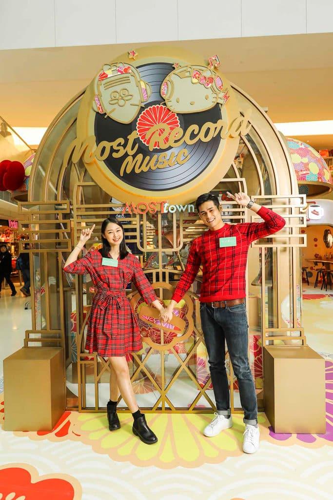 MosTown新港城中心:Hello Kitty×老夫子『玩』傳統新年 MOST經典唱片店