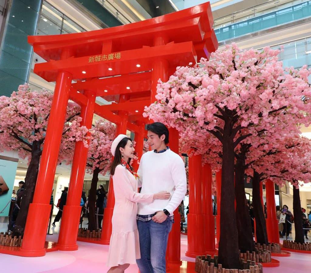 新城市廣場:「新春の幸福駅」賀年佈置