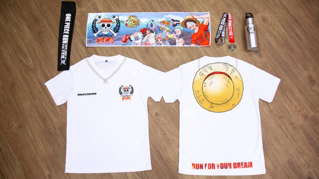 One Piece Run 海賊王街跑2019 2 公里及 5 公里個人賽的基本配備