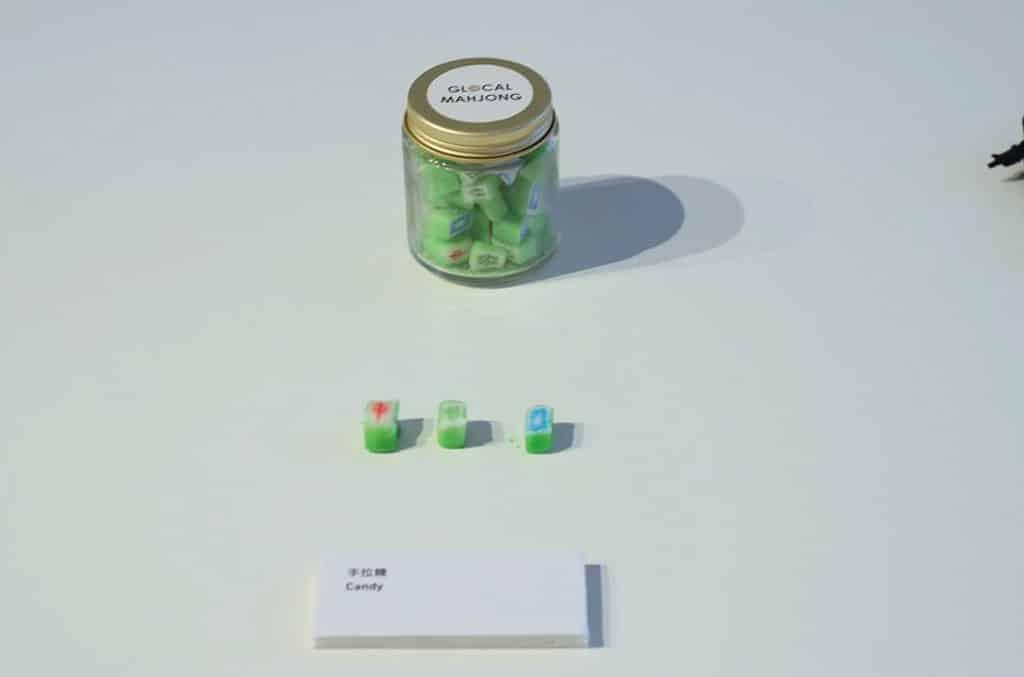 中環PMQ元創方:一筒麻雀展覽 麻雀圖案的手拉糖
