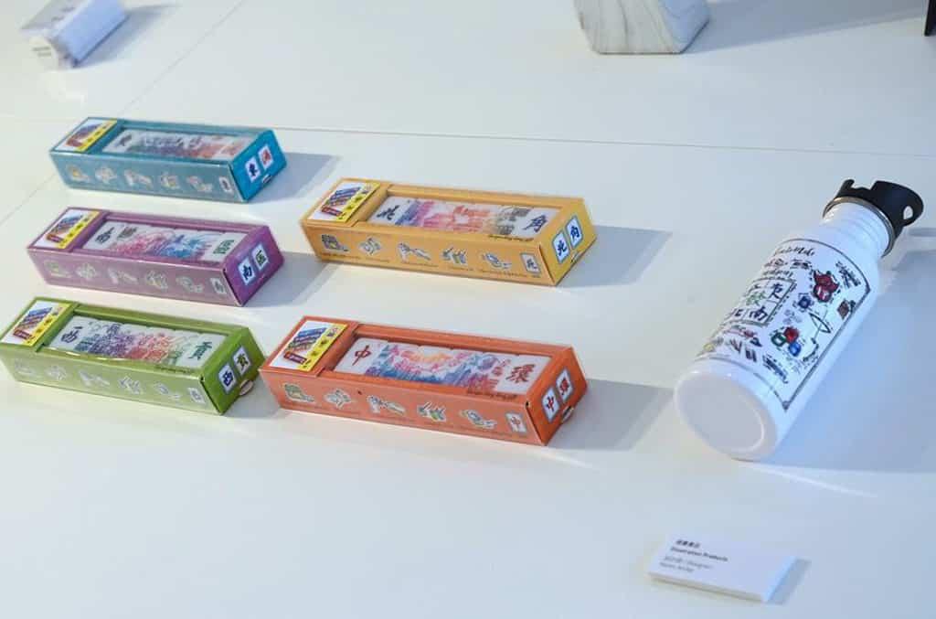 中環PMQ元創方:一筒麻雀展覽 以麻雀為靈感的文創產品