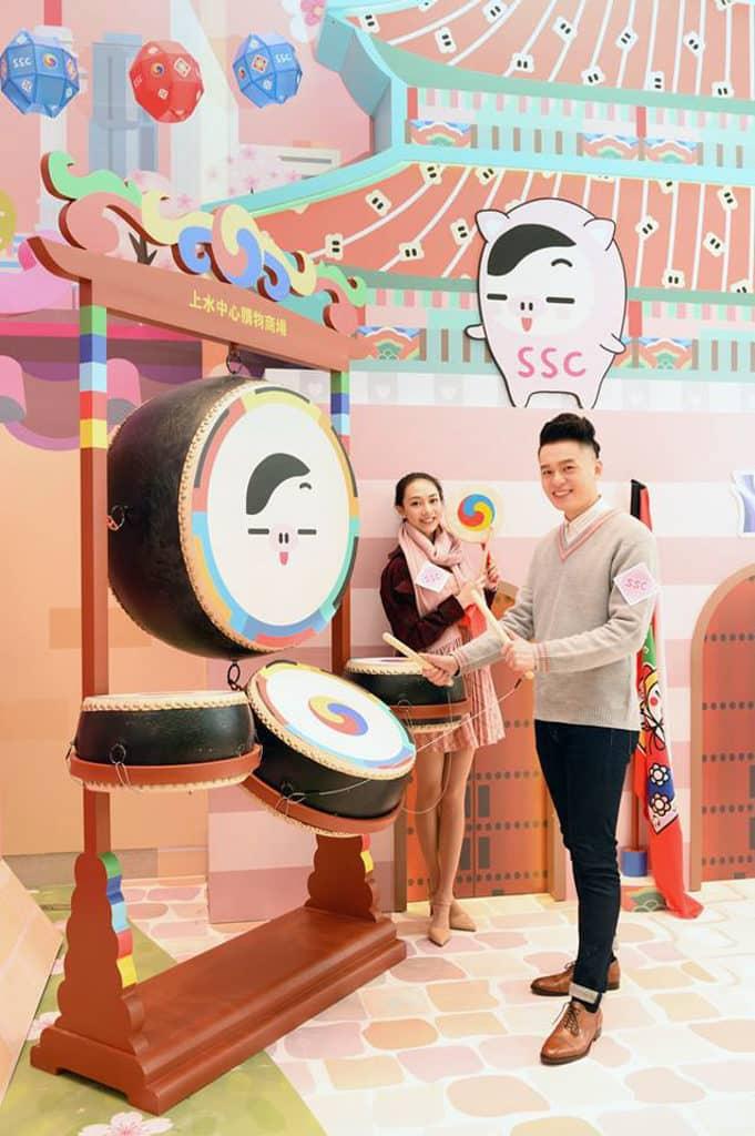 上水中心:Ddaengji 韓風『遊』樂新春 SSC 化身為韓國新年必到熱點景福宮。