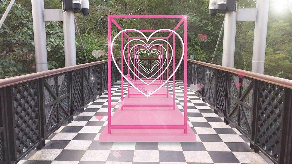 赤柱廣場:「心心相印」情人節活動-「心心相印」立體相框