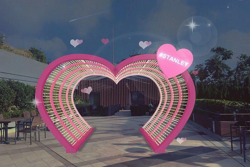 赤柱廣場:「心心相印」情人節活動-浪漫滿分「心」意迴廊