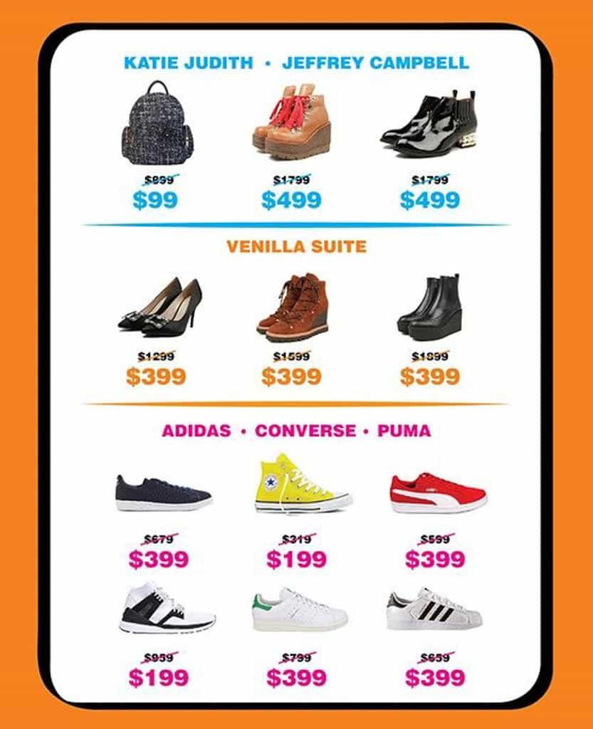 it開倉2019|i.t SHOES & BAGS WAREHOUSE SALE 今次 i.t 開倉有超過 20 個品牌參與,以鞋和袋為主打。