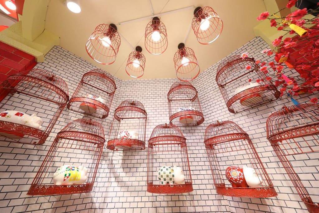 德福廣場:「至『紅』港式情懷」新春佈置 新春懷舊展覽有多個吸睛打卡位。