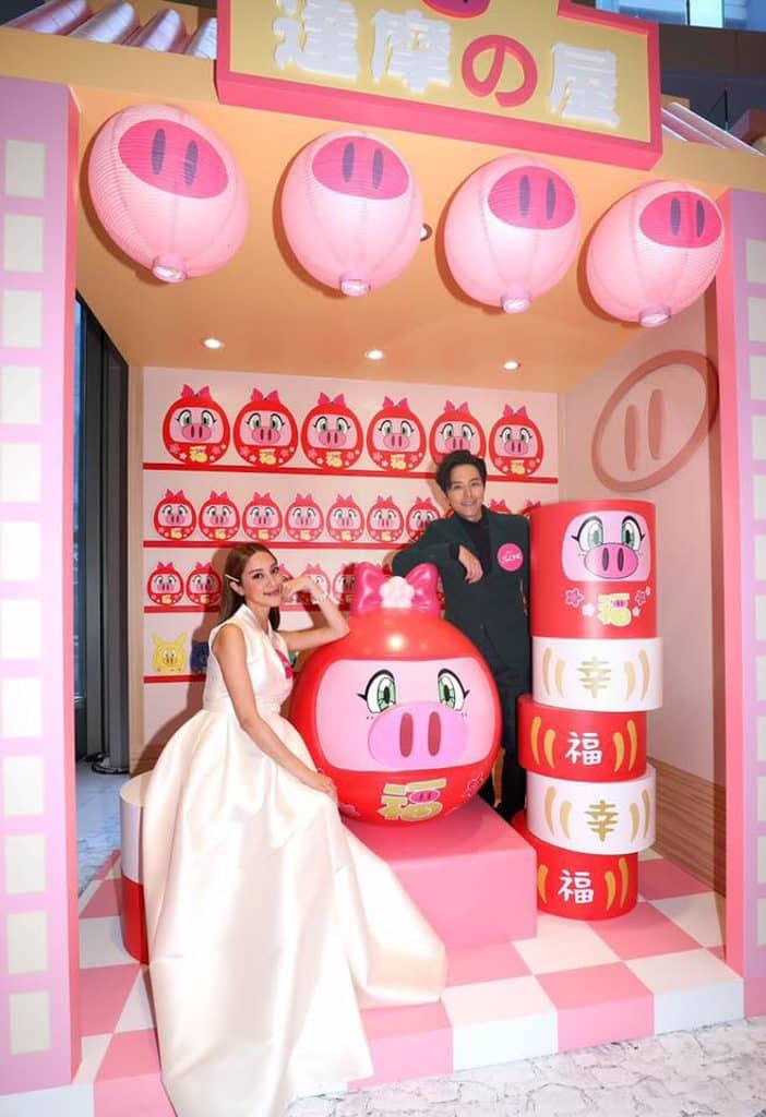 The ONE:「飛天少女豬事丁」豬事吉祥遊樂園 寶妮達摩之屋