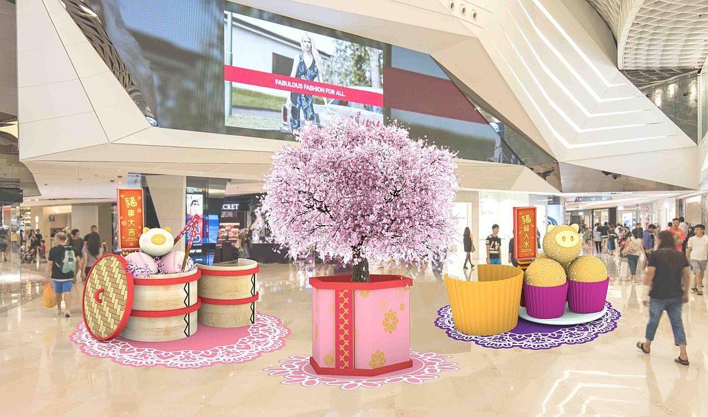 YOHO MALL「甜蜜賀新春」室內年宵市場: