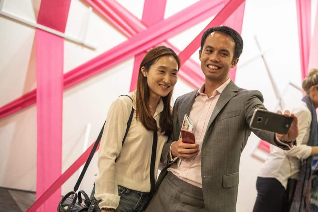 會展:Affordable Art Fair Hong Kong 2019 Affordable Art Fair 讓公眾以放鬆的心態欣賞藝術品。