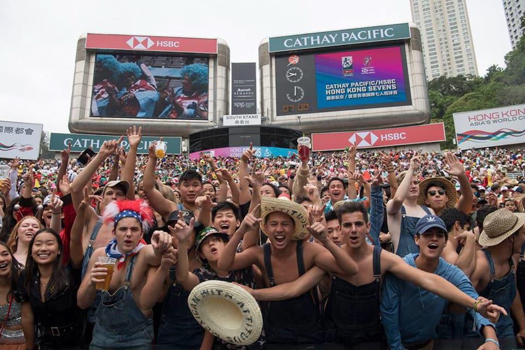 香港國際七人欖球賽2019 Rugby 7 已成亞洲年度欖球盛事。
