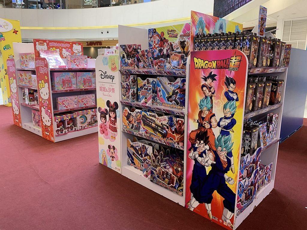Mikiki一田玩具祭-凡購買龍珠超 DRAGON STARS 系列產品,即可獲得龍珠超海報一張。