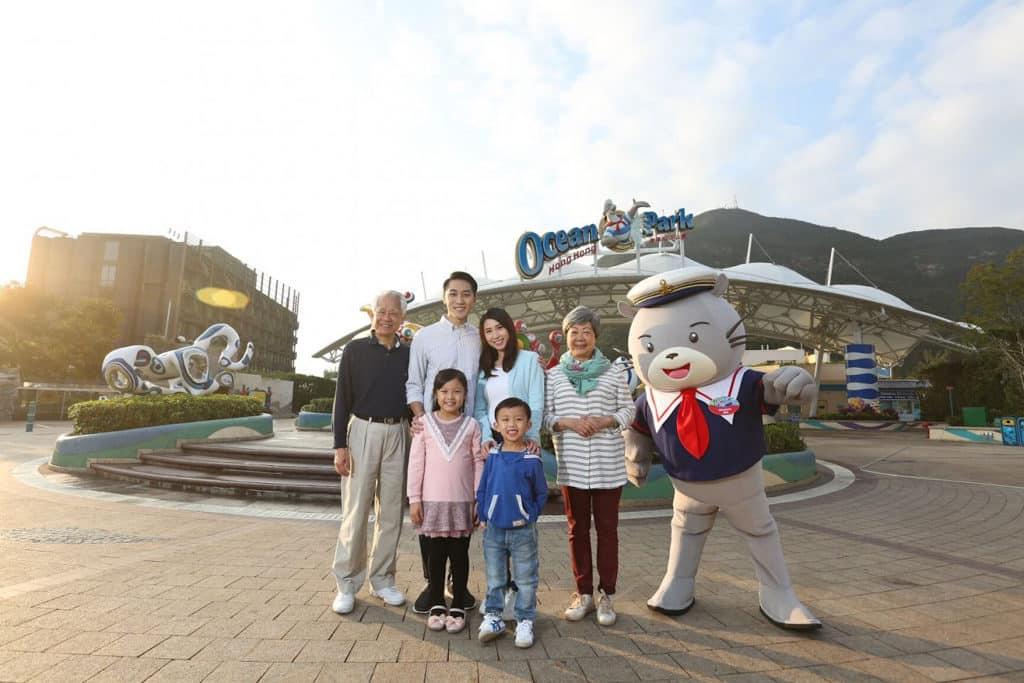 海洋公園「香港市民專屬長者同行優惠」
