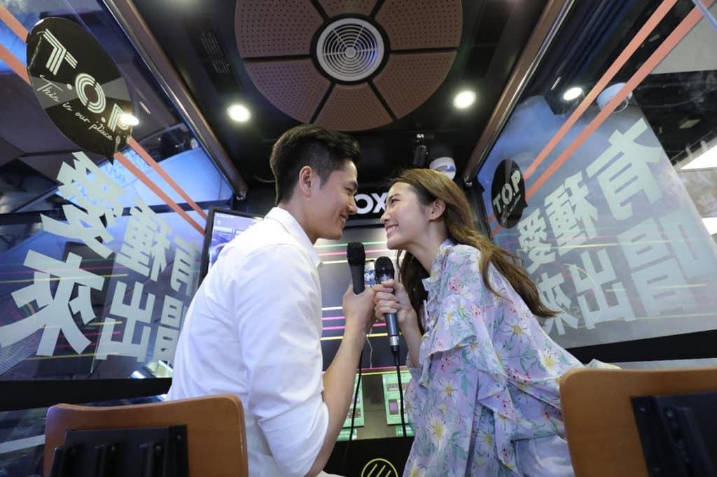 旺角T.O.P:「有種愛唱出來」情人節活動 在 KBox 可點選心愛K歌,即時獻唱及錄低Solo