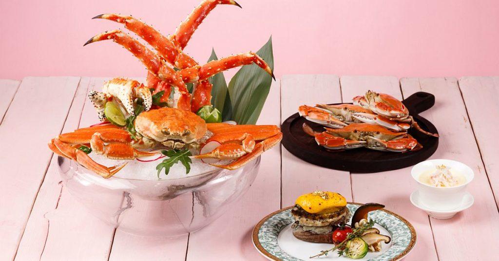 城景國際酒店 皇帝蟹.鮑魚.海鮮自助晚餐