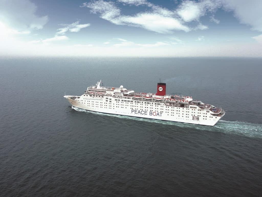 屯門市廣場:「旅遊嘉年華」2019 旅遊KOL會分享「義工郵輪假期」Peace Boat 和平船體驗。