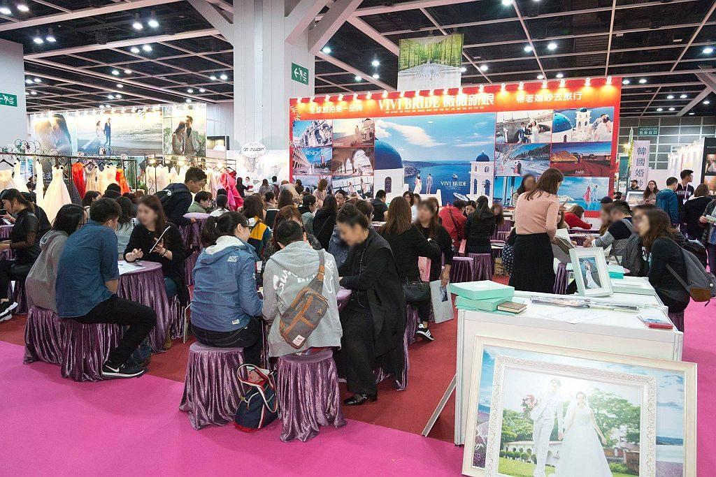 第 95 屆香港結婚節設有「海外婚禮、攝影及蜜月旅遊」專區,雲集海外婚禮策劃專家和旅行社。