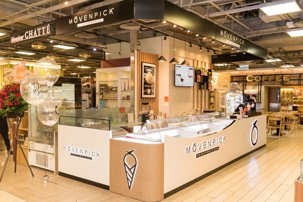 3 月 23 日至 3 月 31 日期間,凡在 apm 商場 MÖVENPICK 雪糕專門店購買任何口味雙球杯裝雪糕一客,即額外獲贈雙球杯裝雪糕一客。