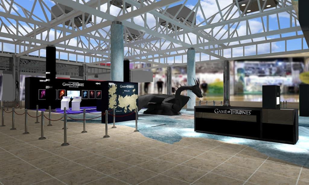 太古城中心:《權力遊戲:寒冬世界》終極體驗 展覽期間,香港市民更有機會坐上「鐵王座」,感受其驚人的震懾力。