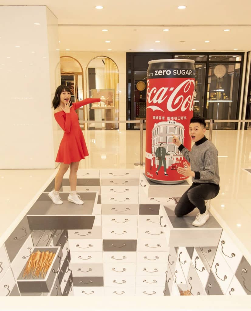 海港城活動:回味香港回味可口可樂展覽 雷生春