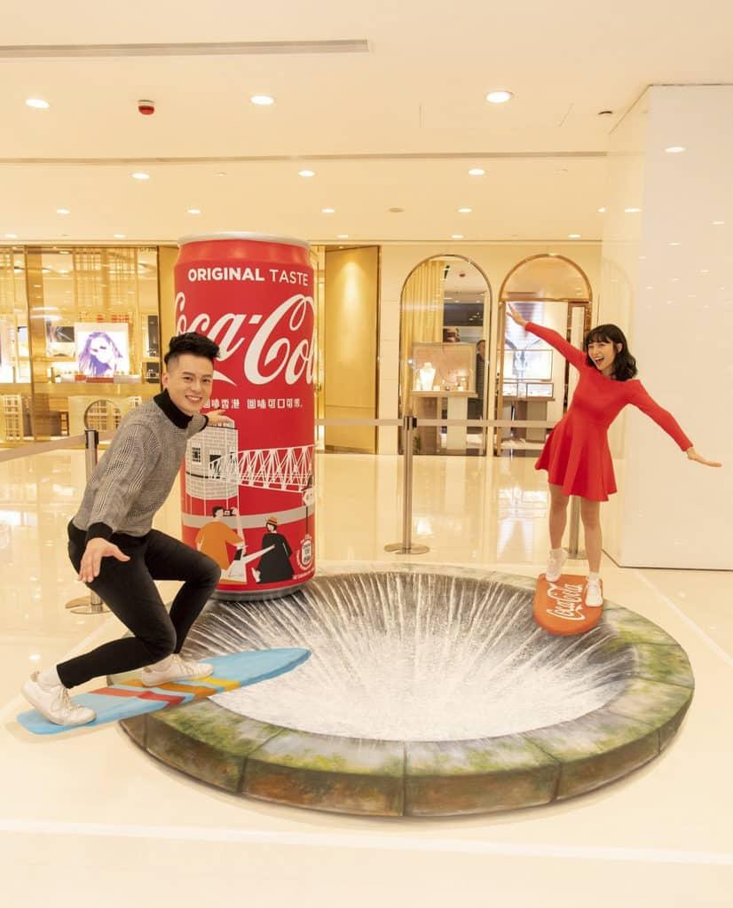 海港城活動:回味香港回味可口可樂展覽 城門水塘鐵橋