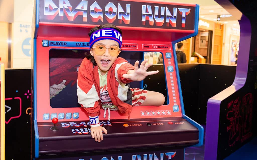 海港城:The ART-CADE電「紙」遊戲機中心 藝術裝置亦成為互動拍照位。
