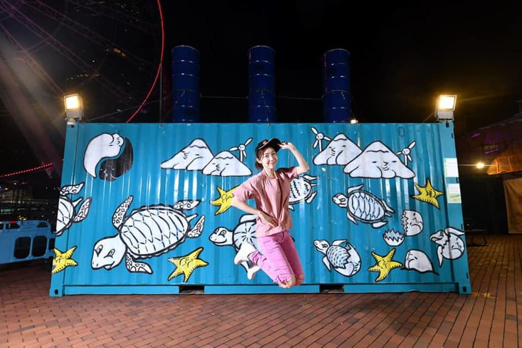 中環碼頭:百寶圖展覽 1