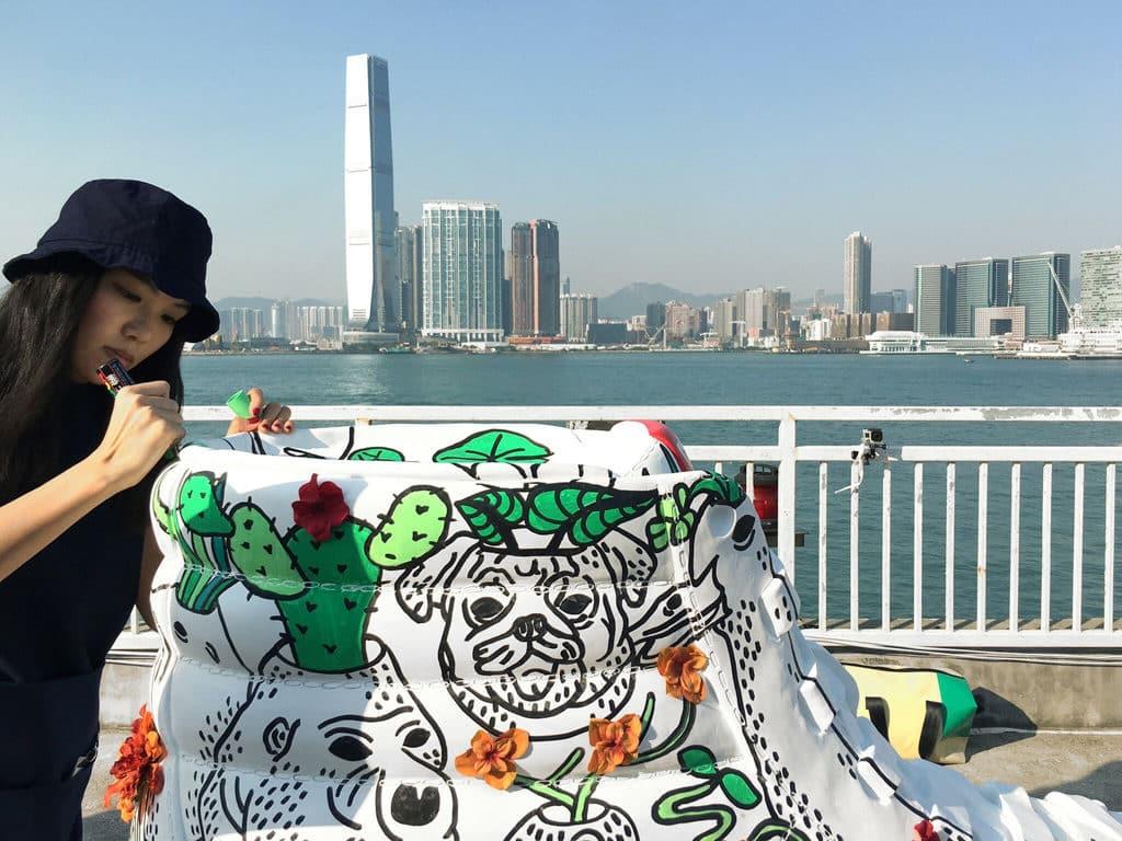 HKwalls 2019街頭藝術節 UUendy Lau (Hong Kong)