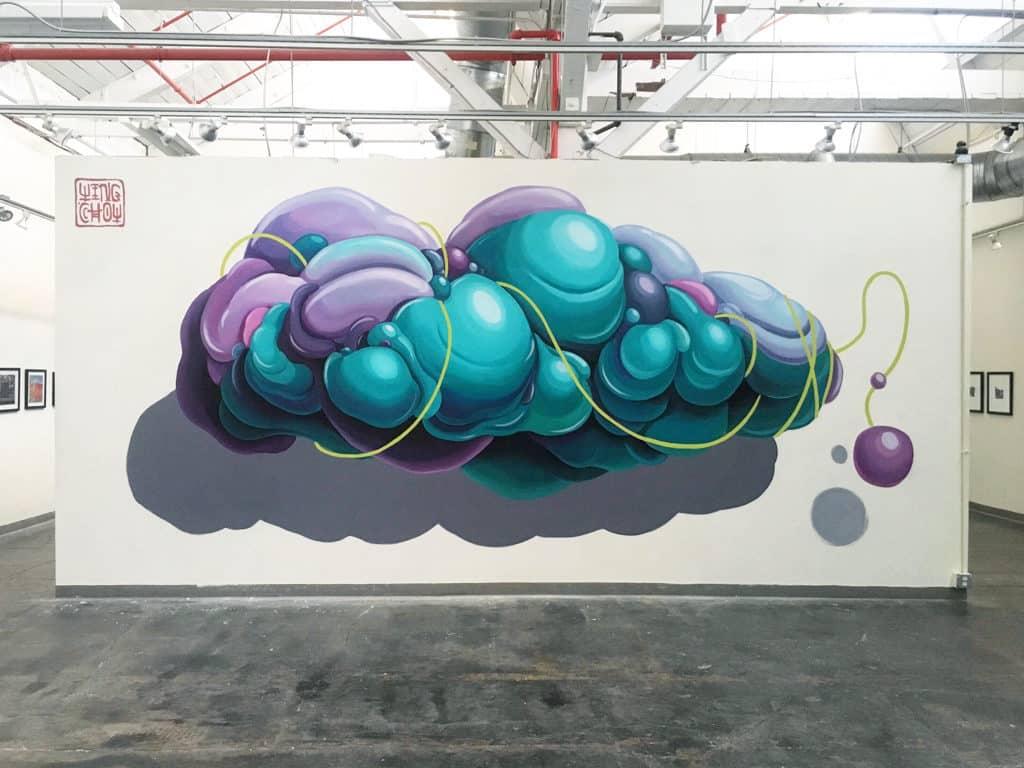 HKwalls 2019街頭藝術節 Wing Chow (USA)