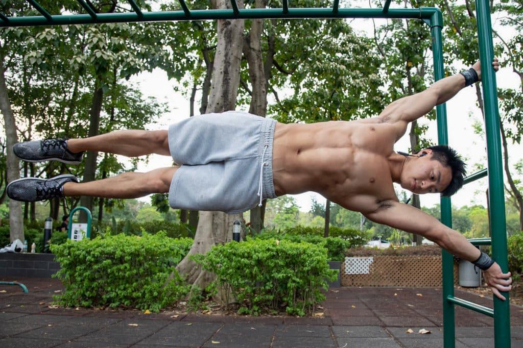 IRIS:Your Escape戶外運動節 街頭健身教練姜庭峰