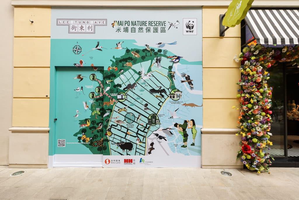利東街:連串環保藝術體驗 利東街與「世界自然基金會」合辦環保活動。