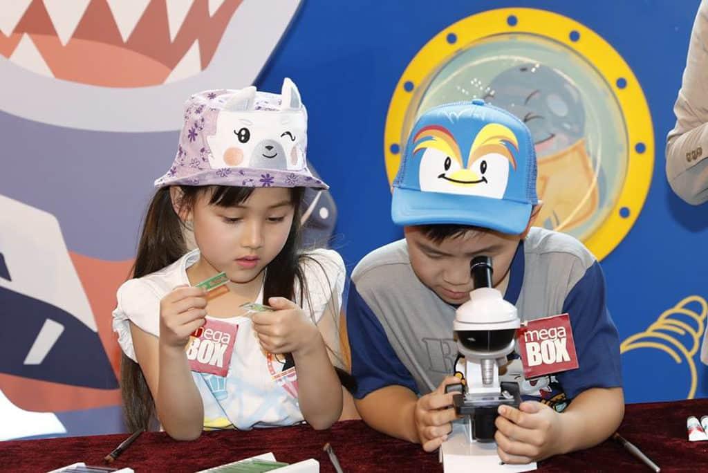 MegaBox x 海洋公園WHISKERS & FRIENDS STEAM探索之旅 小朋友可以從遊戲中愉快學習