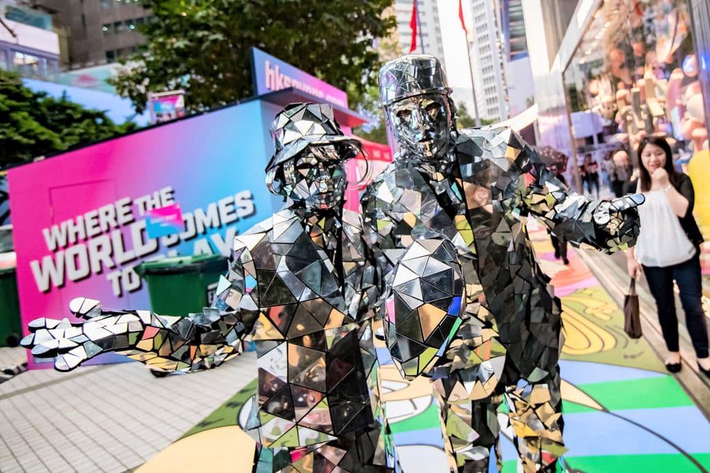 國泰航空/滙豐香港國際七人欖球賽FanWalk 街頭藝術家將於利園一帶的戶外和室外場地現身。