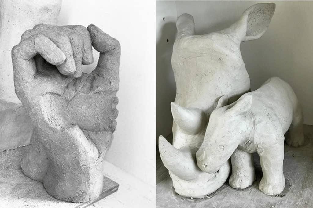 法國五月2019:「那麼遠……而又如此接近」藝術展覽 GAELLE SCHOEBEL 用雕刻來表達自己的創作風格。