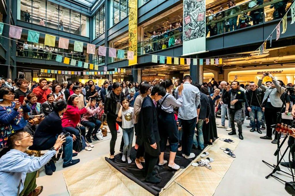 南豐紗廠展覽:「掀起生命的布局」展覽 荃灣 The Mills 南豐紗廠內的 CHAT 六廠正式開幕。