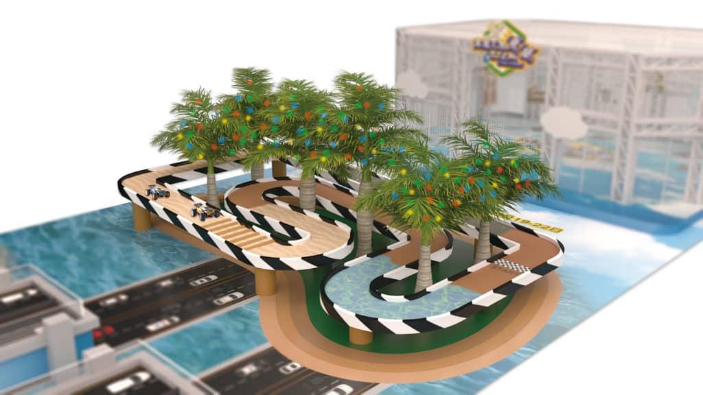 黃埔新天地:復活節呈獻飛馳S.T.E.M. Challenge 越野飆車大挑戰