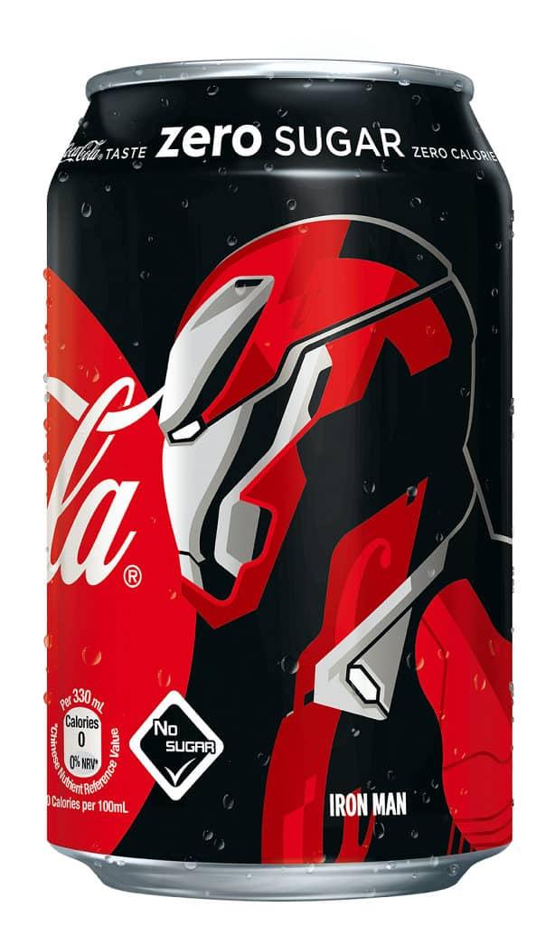 《復仇者聯盟4: 終局之戰》零系可口可樂大抽獎 鐵甲奇俠