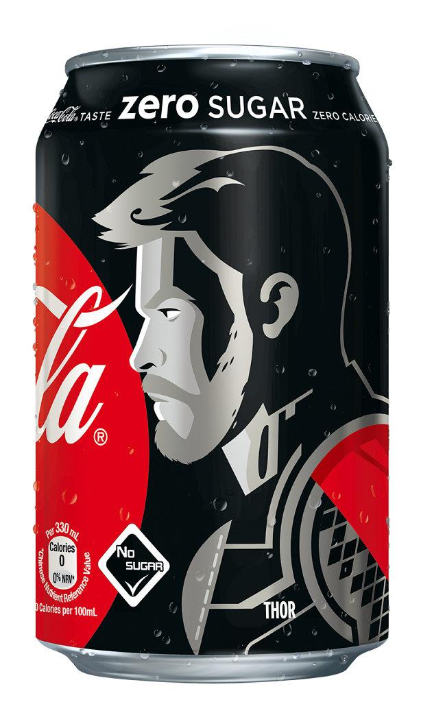 《復仇者聯盟4: 終局之戰》零系可口可樂大抽獎 雷神