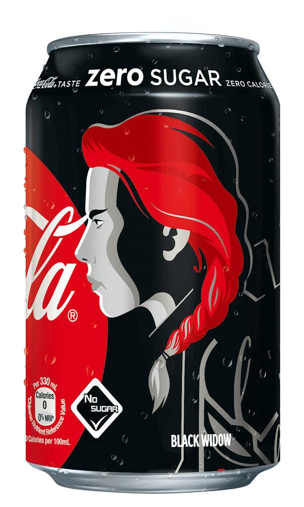 《復仇者聯盟4: 終局之戰》零系可口可樂大抽獎 黑寡婦