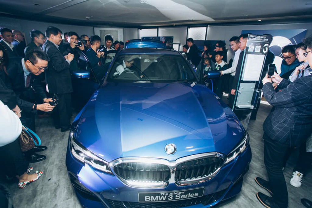 BMW LOFT3體驗之旅 賓客可現場觸摸全新第 7 代 BMW 3 Series。