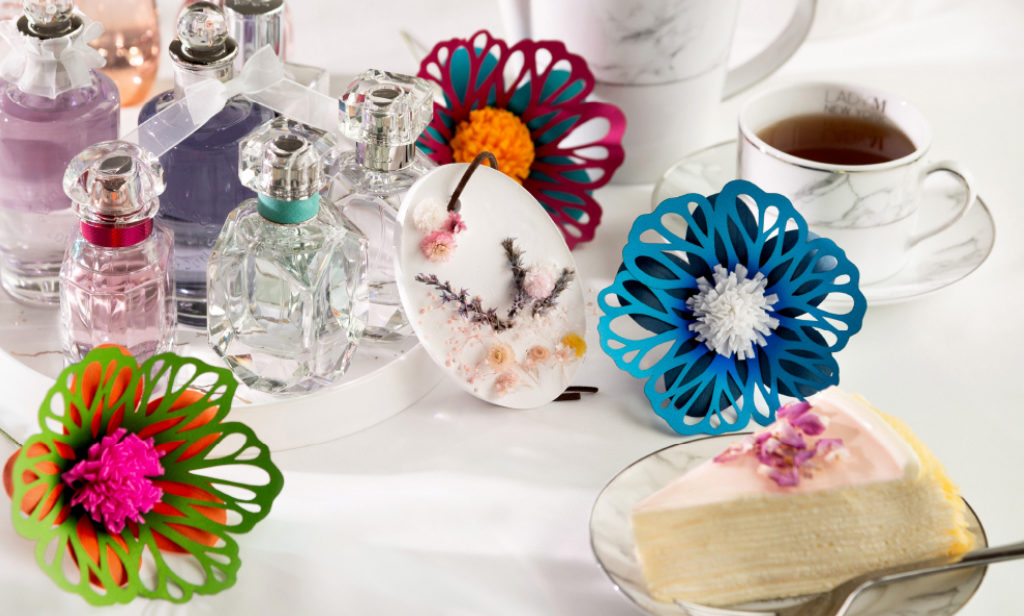 海港城:Beauty Bloom 花香遊藝園 活動現場可任試超過 50 款香水。