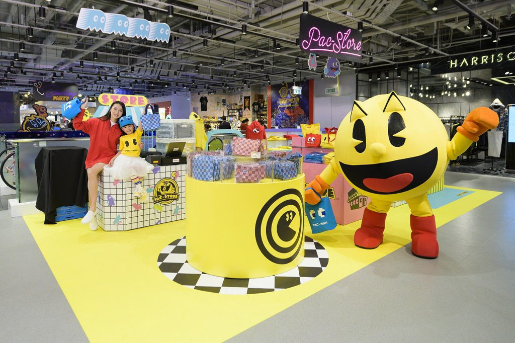 海港城LCX:PAC-MAN Escape from the Maze PAC-STORE 期間限定店